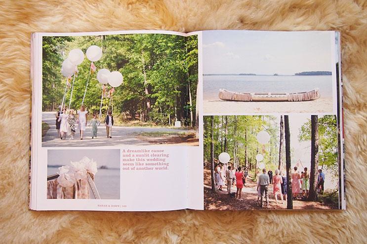 Heiraten imGrünen mit Picknick und Bootstour