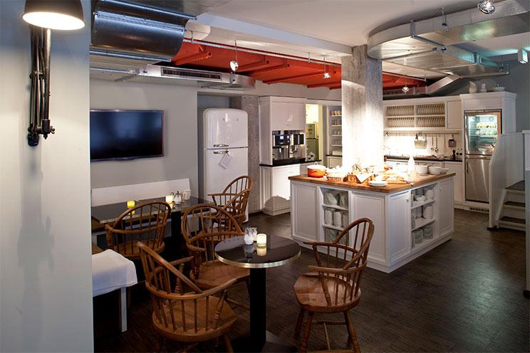 Die Kontorküche im Hotel Henri, Restaurant