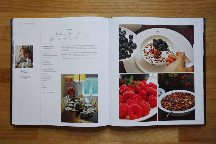 Rezeptbuch mit Stil - Küchegeheimnisse erfolgreicher Frauen - Rezepte zum Nachkochen