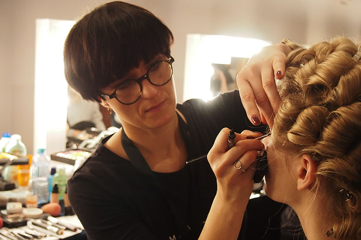 Make-Up Lena Hoschek Fashion Week