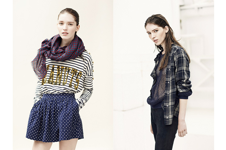 Lein & Harper Kollektion Fall/Winter 2014/15, Pillover mit Streifen und Karohemd, online bestellen