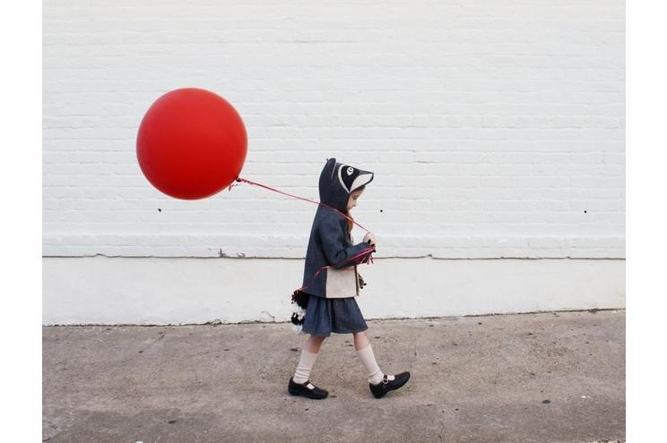 Kindermantel von Little Goodall mit Tier-Design Waschbär, Kostüm, Filzmantel