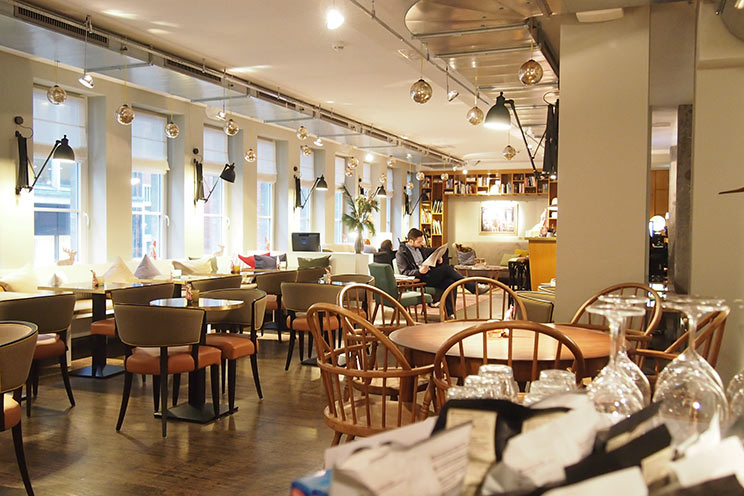 DesignHotel Henri Hamburg, Restaurant und Frühstücksraum