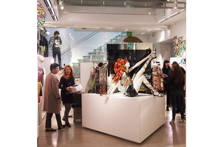 Boutique und Shop von Luisa via roma in Florenz für Designermode