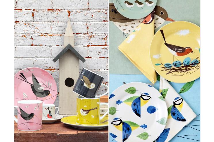 Porzellan und Geschirr von Magpie mit Vögeln aus der Serie Birdy, online bestellen
