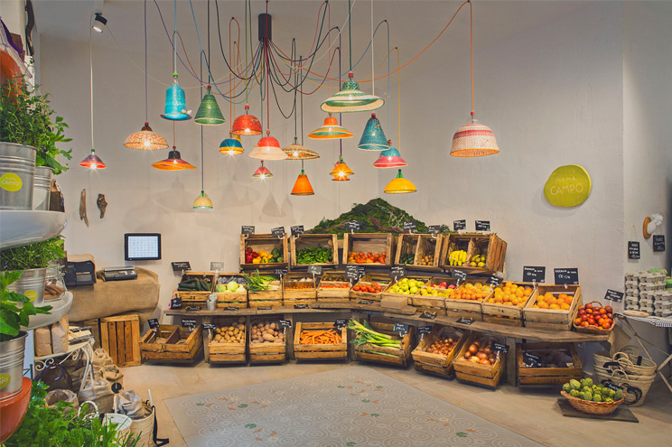 Bio-Supermarkt mit Organic Food, Mama Campo Madrid