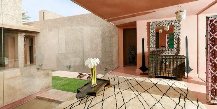 Zimmer und Suiten im Hotel Dar Sabra Marakkesch, Wohnen im marokkanischen Stil, Einrichtung, Interior, Architektur