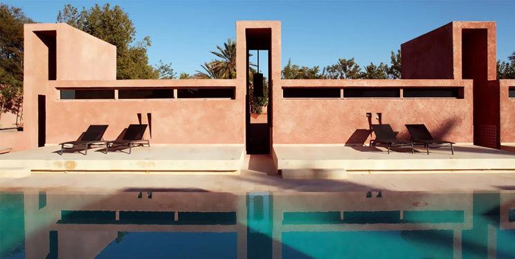 Designhotel Dar Sabra in Marakkesch mit Pool, Spa und Wellness