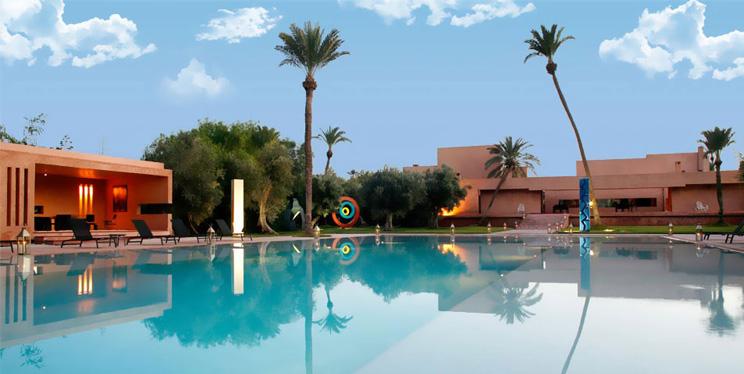 Design- Luxus- Spa- und Wellnesshotel Dar Sabra in Marrakesch mit Pool