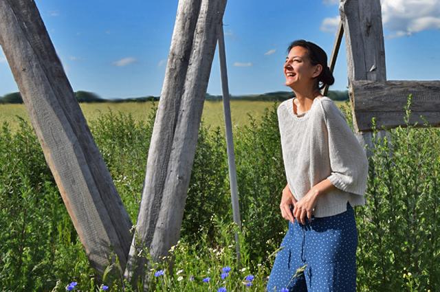 Maska, Modelabel aus Schweden mit der Sommerkollektion Strick, styling, outfit, blogger, pyjamalook, strickmode