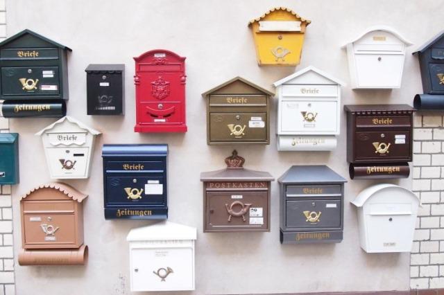 Briefkästen Vintage und Retro im Michelberger Hotel in Berlin mit Büro von Modeopfer110 und The Shopazine