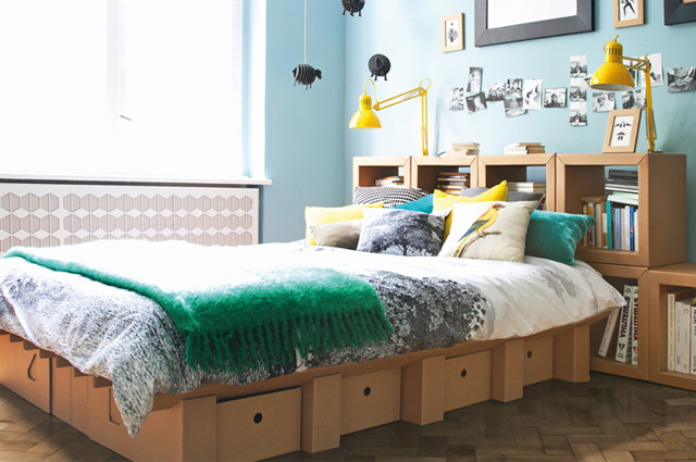 Möbel Aus Pappe easy living möbel aus pappe stange design the shopazine de