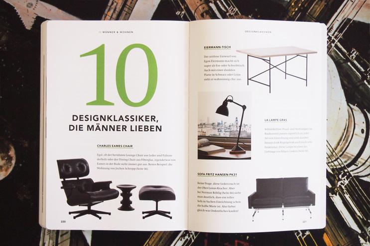Lounge CHair von Eames oder Tisch von Eiermann, Designklassiker und Möbel, die Männer lieben