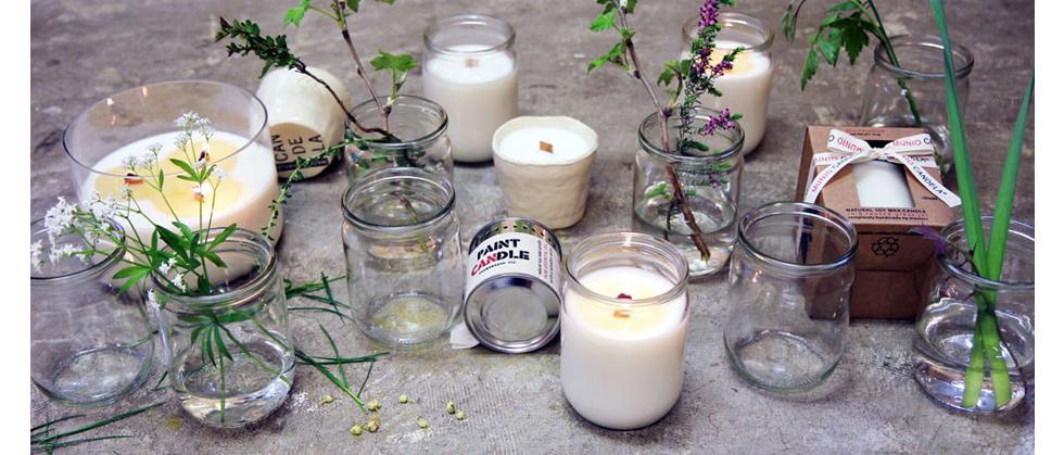 Biologische Duftkerzen aus Sojawachs von Munio Candela, Geschenk, online bestellen, ohne Paraffin