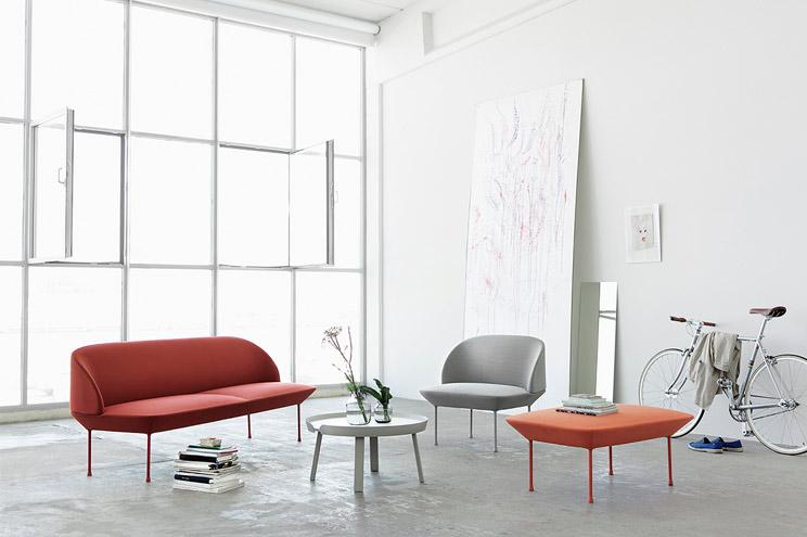 Sofa und Sessel OSLO von Muuto, Möbel für Wohnzimmer, Einrichtung, Katalog 2014