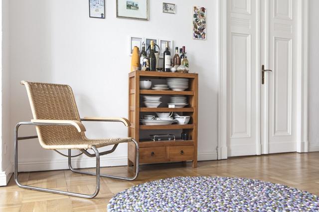 teppich aus filzkugeln perfect linie design asko teppich grey with teppich aus filzkugeln. Black Bedroom Furniture Sets. Home Design Ideas