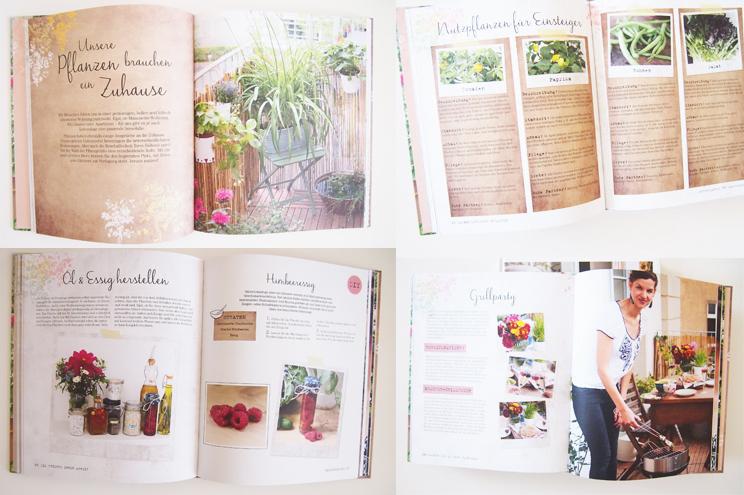 Buch Mein kreativer Stadtbalkon von Silvia Appelt, mit DIY Ideen für Balkon und Garten, rezepte, grillparty, gartenparty