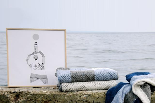 Interiorlabel norden denmark, mit skandinavischen Wohnaccessoires wie Wolldecken, Illustrationen und Poster, online bestellen, fairtrade, Afrika