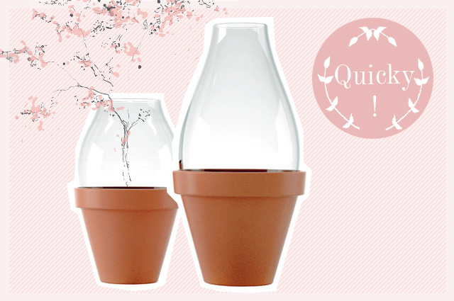 Fleur Vase und Blumentopf aus Glas und Ton von Konstantin Slawinski, online bestellen, wohnaccessoires