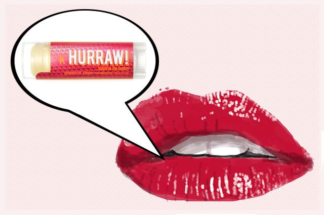 Biologische Pflegestifte von Hurraw!