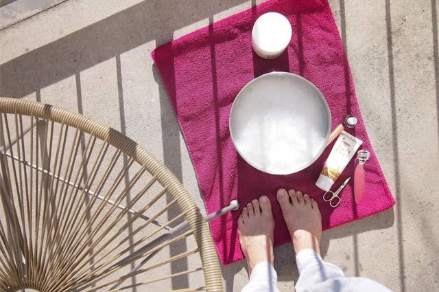Pediküre und Fußpflege für den Sommer - schöne Füße selber machen, Empfehlung, Produkte