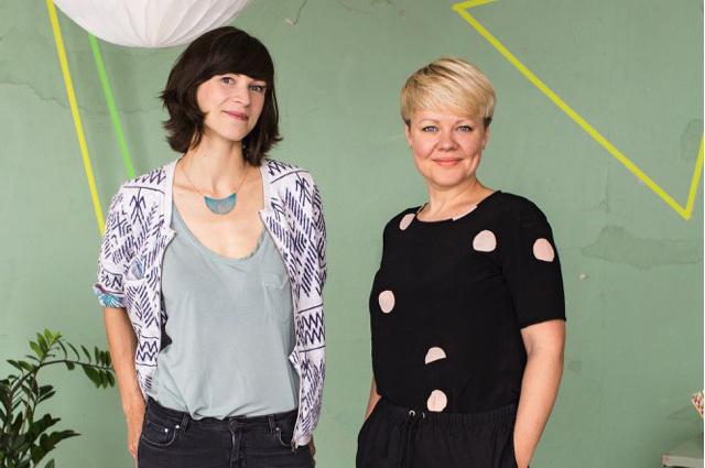 Lilija Bairamova und Nadja Fleicher, Gründerinnen des Berliner Start-ups und Kindermode Guide Pepe & Nika