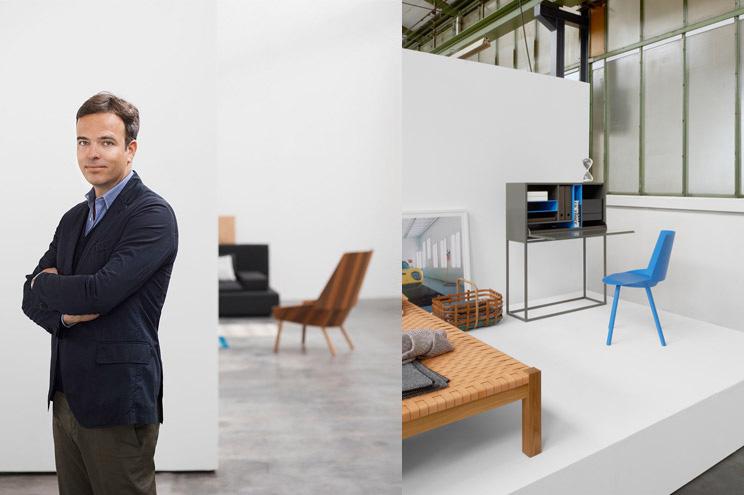 Architekt, Gründer und Kreativchef Philipp Mainzer im e15 Showroom