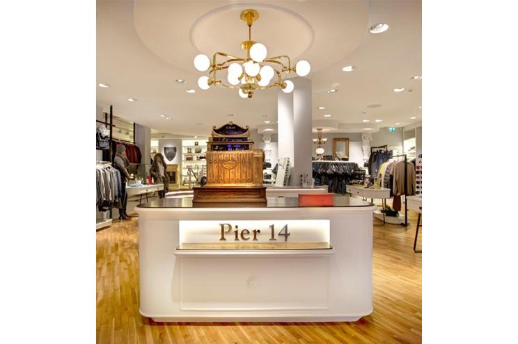 Einkaufen und Shopping auf Usedom, Boutique und Shop für Premiumlabels und Designermode im Pier 14 auf Usedom