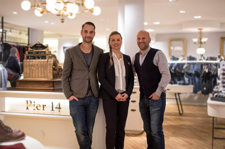 Geschäftsführer und Gründer von Pier 14 in Zinnowitz auf Usedom - Stefan Richter und Jana und Gert Griehl