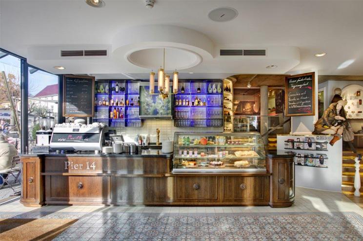 Restaurant und Café Empfehlung und Tipp im Pier 14, Zinnowitz, Usedom