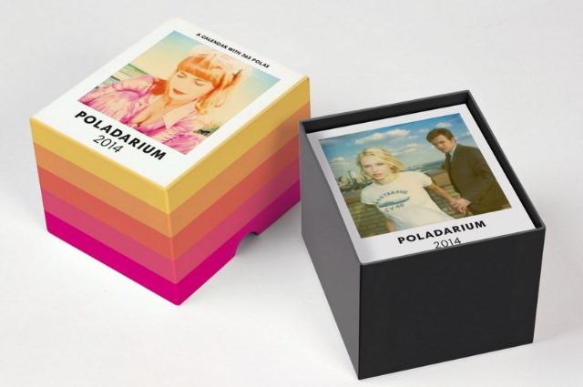 Der Poladarium 2014 Kalender für jeden Tag mit 356 Polaroids und Fots für jeden Tag des Jahres