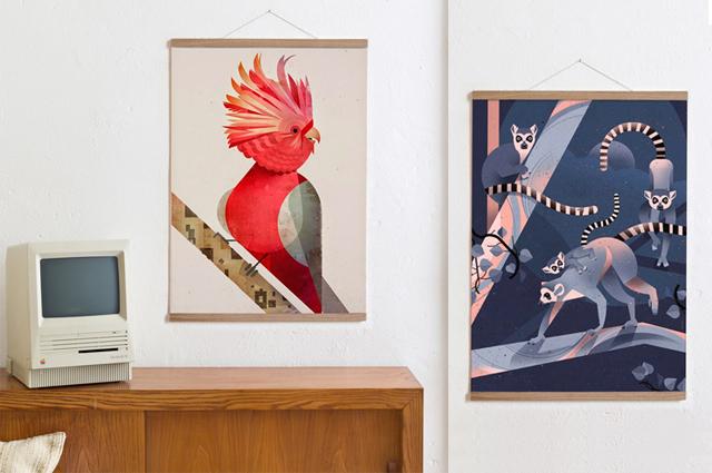 Bilderleise oder magnetische Posterhalterungen von KLEINWAREN / VON LAUFENBERG online bestellen, Posterleiste, Magnet, Posterhalterung, Aufhängung