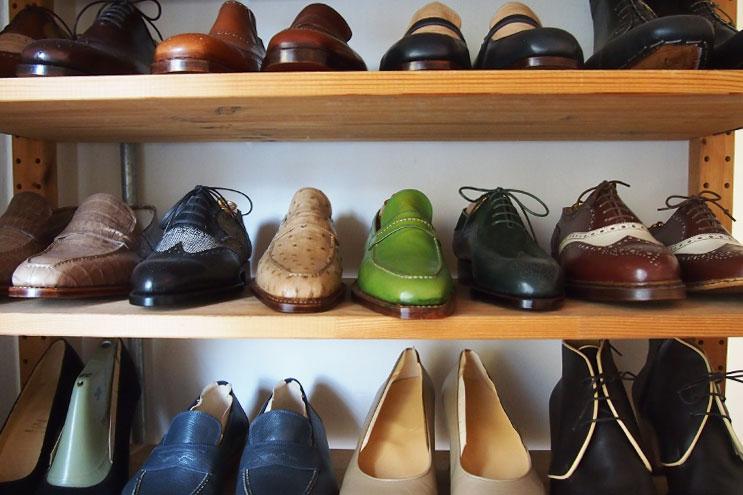 Lederschuhe in unterschiedlichen Lederqualitäten