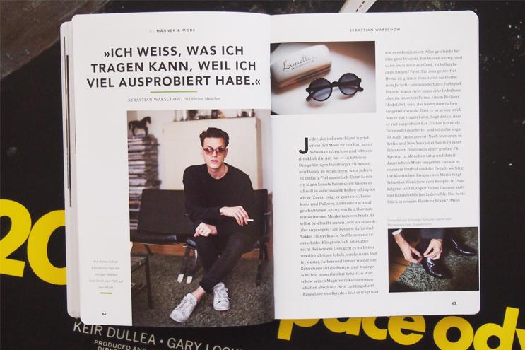 Buch GUTER TYP - PR Director Sebastian Warschow Styling und Modestil