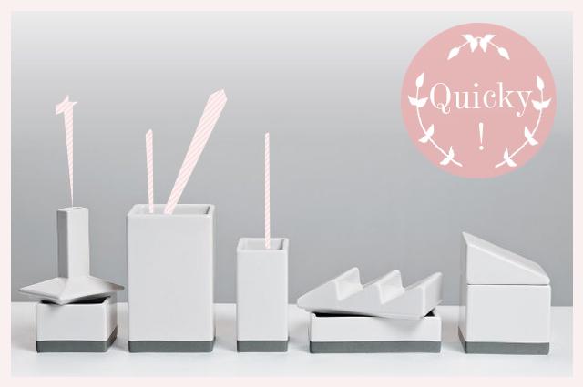 The Warehouse - Schreibtisch-Organizer aus Porzellan von Seletti, online bestellen