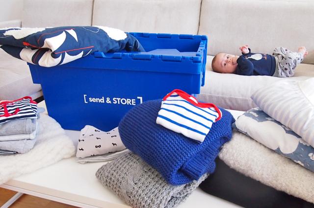 Send & Store aus Hamburg - Storage und Aufbewahrung für Kleidung, Möbel und Haushalt, buchen, verschicken