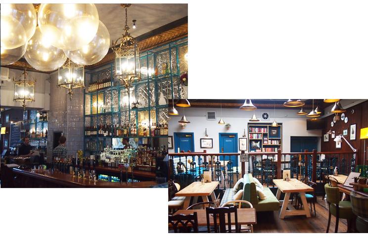Neue Bar im Nachtleben von Brighton, Bar und Cafe Seven Stars in The Lane Brighton neu eröffnet