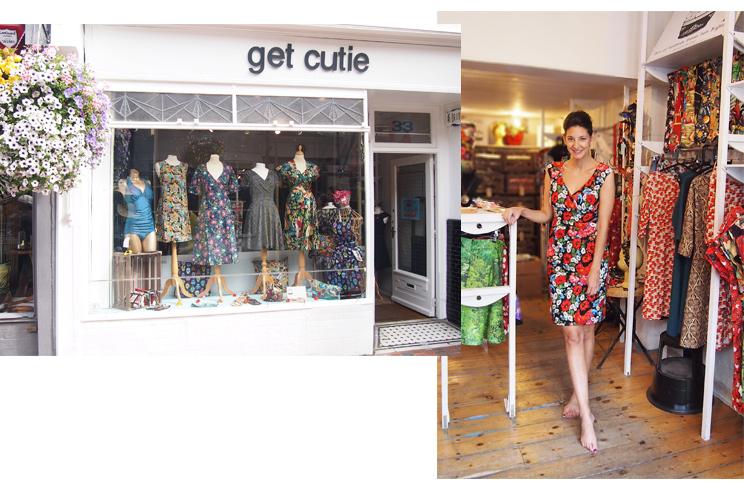 Shoppingtipps und Einkaufen in Brighton, Vintage- und Retro Mode im Shop Get Cutie in Brighton