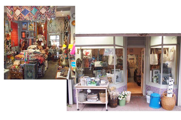 Shops, Vintageläden, Mode und Wohnaccessoires in The North Laine in Brighton