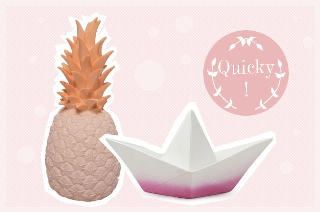 Aus dem Onlineshop Smallable Nachttischlampe für Kinder von Goodnight Light, Ananas oder Schiff, online bestellen