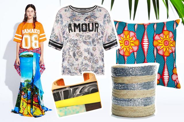 Stella Jean Kollektion Sommer 2015, Styling im Ethno Look mit afrikanischen Mustern, Einrichtung, Inspiration