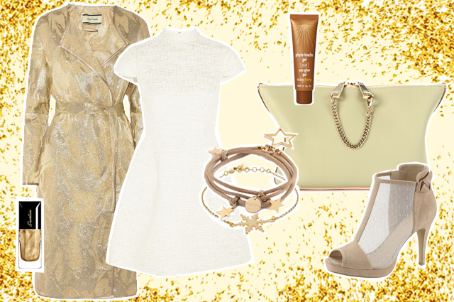 Das Styling zum Nachkaufen - Glitzer und Glamour an Weihnachten und Silvester, stylingtipp, outfit