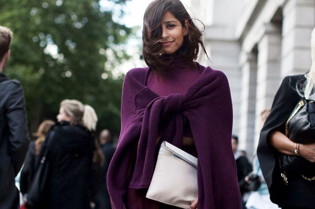 Styling Radiant Orchid - Look in violett Nuancen