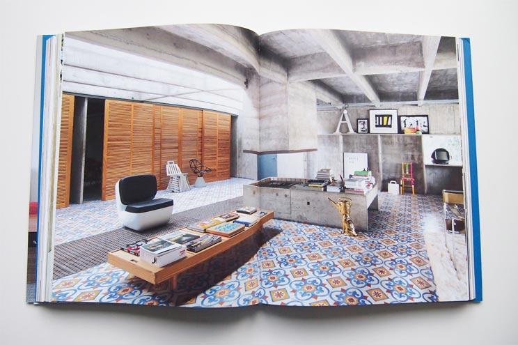 Wohnung von Architekt Paulo Mendes da Rocha für den brasilianischen Unternehmer Houssein Jarouche, Loft, Interiors now 3 Taschen