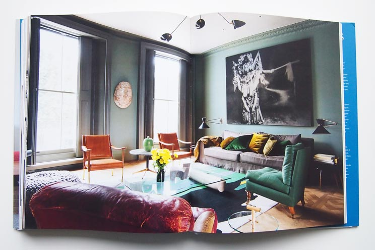 Innenarchitektin und Designerin Faye Toogood, London, Interiors Now 3 Taschen, Wohnung in London