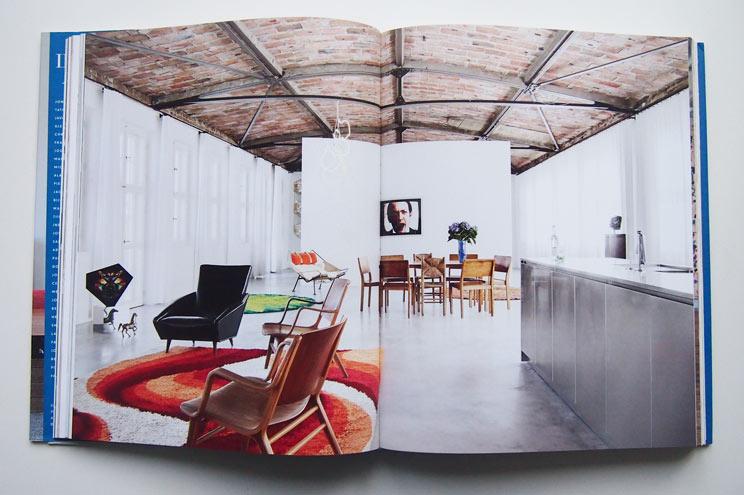 Der Kunsthändler Michael Fuchs und sein Berliner Loft in einer Industrieetage, Interiors Now 3, Inneneinrichtung, Design, Wohnung,