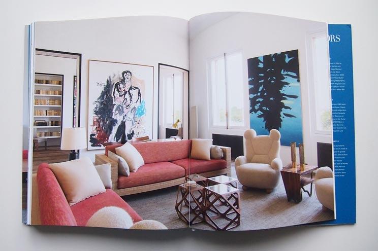 Das Apartment des Innenarchitekten Pierre Yovanovitsch in Paris, Interiors Now 3, Taschen, Inneneinrichtung, Wohnung,