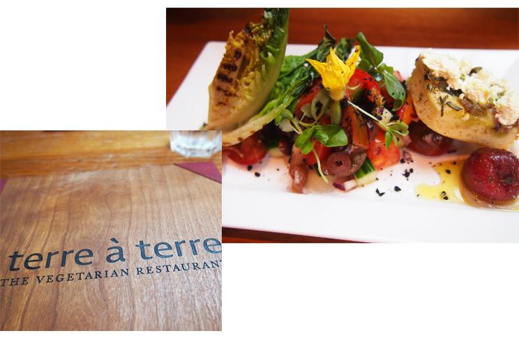 Vegetarisches Restaurant Terre a Terre in Brighton, Städtereise, Preise, Empfehlung, Tipp