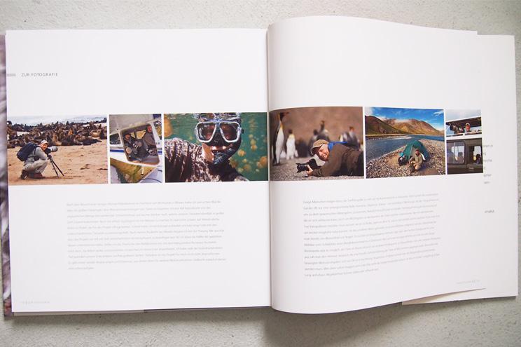 Tierfotograf Ingo Arndt bei der Entsehung der Fotos zu seinem Buch TIERREICH - Schwärme, Herden, Kolonien, online bestellen, Bildband, Fotografien