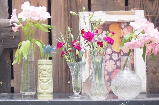 Tiki Becher aus Porzellan - Tiki Style für Zuhause, Wohnidee, inspiration, Dekoratione, Blumen, Vasen